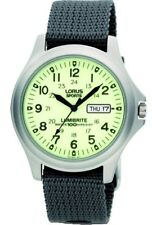 Lorus Gents Lumibritte Military Style Watch - LNP RXF41AX7