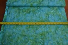 By 1/2 Yd, Turquoise & Green Batik, Indonesia, Anthology/Indonesia/837, B914
