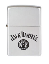 ZIPPO 1220028 Jack Daniels old No 7 brand Chrome satin
