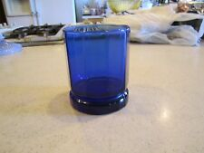 Anchor Hocking  ESSEX  COBALT BLUE Double Old Fashioned  3 3/4""