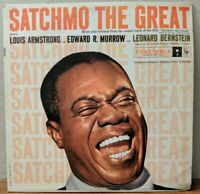 Satchmo The Great by Louis Armstrong (LP, 1957, Columbia)