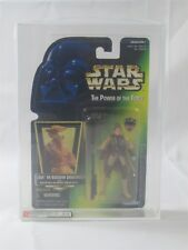 STAR WARS POTF2 LEIA IN BOUSHH DISGUISE WITH BLASTER AFA 8.5
