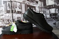 MOZO CHEF OXFORD BLACK LEATHER ALL DAY WALKING WORKING SHOES US 15 D