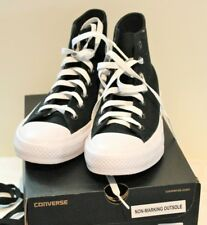 NEW CONVERSE CHUCK TAYLOR ALL STAR 2 BLACK CANVAS BOOTS KIDS SIZE 6 UNISEX RP120