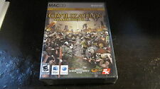 SID MEIER CIVILIZATION IV WARLORDS EXPANSION PAC MAC CD ROM COMPLETE NEW