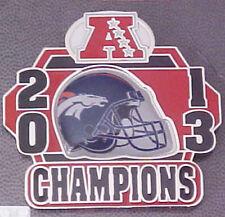 DENVER BRONCOS 2013 AFC CHAMPIONS PIN  SUPER BOWL 48