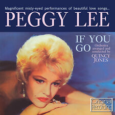 Peggy Lee - If You Go CD