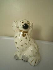 Antique 8� Staffordshire Dog King Charles Spaniel Figurine