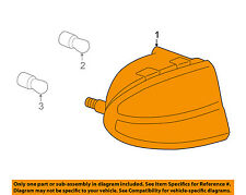 Oldsmobile GM OEM 99-04 Alero-Taillight Tail Light Lamp Left 19245392