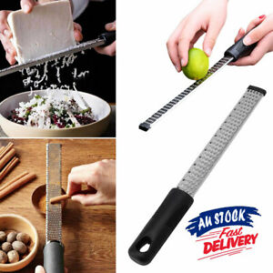 Nutmeg Stainless Steel Cheese Grater Zester Slicer Hand Microplane Tool Lemon
