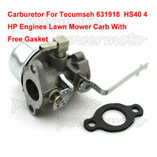 Tecumseh Carburetor Fit 631918 4HP HS40 HS50 5HP Go Kart Mini Bike Buggy Engine
