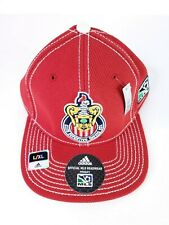 New Rare MLS Hat Find Club Deportivo Chivas USA Size L/XL Adidas Climalite.