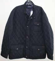 Polo Ralph Lauren Big and Tall Mens Navy Blue Quilted Down Jacket NWT 3XLT