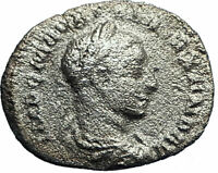 SEVERUS ALEXANDER 222AD Rome Silver Ancient Roman Coin Equality Aequitas i78200