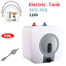 Whole Home Electric Tankless Hot Water Heater Kitchen Bathroom 95℉-167℉110V 10L
