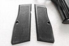 FEG Hi-Power Grips Unissued 1990s Black Polymer Browning Adaptable GR9HP