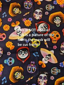 Handmade* Cotton Fabric Face Mask with Nose Clip & Filter Pocket* USA* 20% off