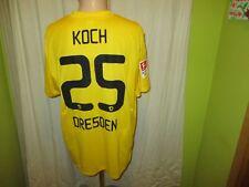 "Dynamo Dresden Original Nike Heim Trikot 2011/12 ""VEOLIA"" + Nr.25 Koch Gr.XL"