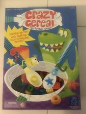 NEW! Crazy Cereal Electronic Game Educational Family Fun Color Recognition