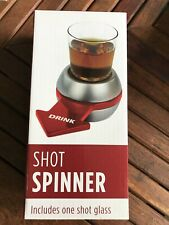 New listing New Shot Spinner Drinking Game - with 2 Oz. Shot Glass Still In Box
