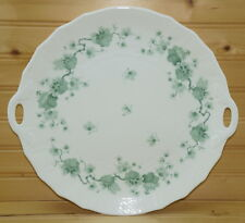 "Villeroy & Boch Heinrich Girlande Handled Cake Plate, 12 1/8"" x 11 1/2"""