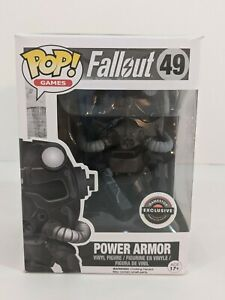 49 Power Armor (Fallout) (Exclusive)  Funko Pop in  Soft Case FREE Shipping!!!