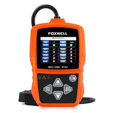 FOXWELL CAN OBD2 II & EOBD Code Reader Engine Diagnostic Tool NT201 I/M Scanner