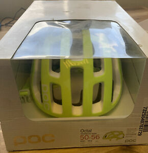 Poc Octal Cycling Helmet Unobtanium Yellow Size Small 185g 50-56cm