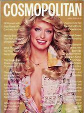 14 Cosmopolitan Magazines from 1970's  Farrah Fawcett Christy Brinkley  Basinger