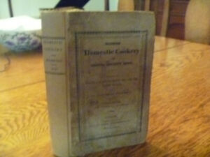 1825 Elizabeth  Hammond, Modern Domestic Cookery, Fifth edition, Improved