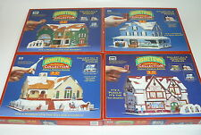 3D PUZZLE LOT (4) HOMETOWN COLLECTION BAKERY – OUR HOUSE – TOY SHOPPE – CHURCH