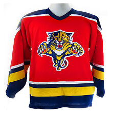 Florida Panthers Pro Player Red Nhl Jersey - Youth Small / Medium
