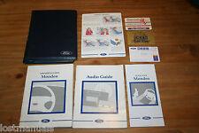 FORD MONDEO MK2 OWNERS MANUAL / USER HANDBOOK, 1996-2000. AUDIO MANUAL