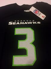 New Seattle Seahawks Russell Wilson 3 NFL Apparel Shirt Mens Size Large Men sz L