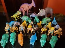 HUGE  Lot of Vintage 1987 Playskool Definitely Dinosaurs and Figures