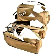 ELITE FIRST AID Corpsman M3 Medic Bag STOCKED Trauma Kit Military Survival TAN+
