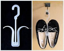 "50 Retail Shoe Hangers 8"" [20cm] Long Plastic for Slippers Sandals Sneakers"