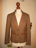 vintage ONE Horse & Hound StreetOne Blazer Cord Karomuster Jacke Gr.EU 40 SMALL