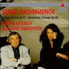 Rachamaninov: Suites Nos.1 & 2; Symphonic Dances (CD, Teldec Import, AM)