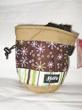 Metolius Bop Chalk Bag for Rock Climbing NEW w/tags MSRP $23 Canvas #4 Brown