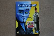 DREAMWORKS MEGAMIND limited edition cover + collectable trading cards NEW DVD