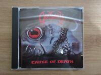 Obituary – Cause Of Death Rare Korea Orig CD