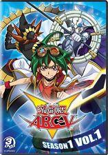 YU-GI-OH ARC-V SEASON 1 VOL 1 New Sealed 3 DVD Set 24 Episodes