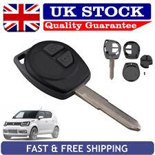 Key Case For Suzuki Grand Vitara Ignis Agila Swift Liana 2b Remote Fob Shell Pad