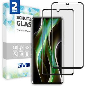 2x 11D Panzerfolie Glas Huawei P30   Pro   Lite Schutzfolie Schutzglas Display