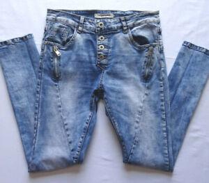 Sehr schöne Jeanshose Skinny Gr.S 36 Lexxury Superstretch Blau Damen