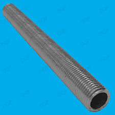 7x M10 300mm x 10mm Allthread Hollow Threaded Rod Tube, Electrical Lamp Socket