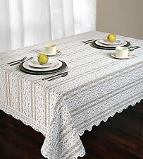 ARBOR Deluxe Vintage Style Lace Oblong Tabelcloth
