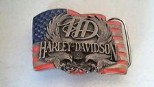 Vintage harley davidson belt buckle