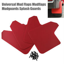 4x Universal Car Mud Flaps Mudflaps Mudguards Splash Guards Parts For Pickup Van